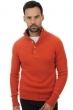 cashmere kaschmir pullover herren polo lewis paprika capuccino xxl